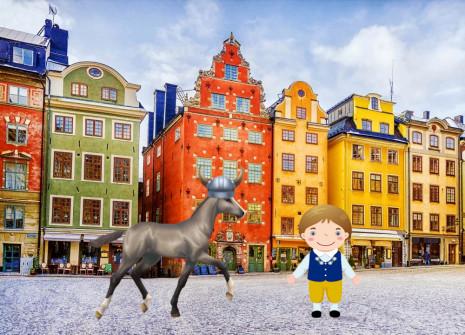 ¡Desembarca el sueco de sangre caliente de varios colores!